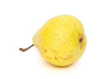 Pear on White Royalty Free Stock Photo