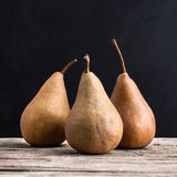 Pear. On a wooden board Stock Photo