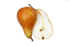 Pear yin and yang Stock Images