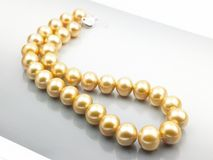 pearl łańcuszkowa Fotografia Stock