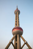 pearl башня shanghai Стоковые Фотографии RF