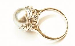 Pearl кольцо Стоковая Фотография RF