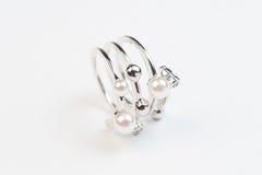 Pearl кольцо Стоковое Изображение RF