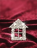 Pearl adornment as a house Royalty Free Stock Photography