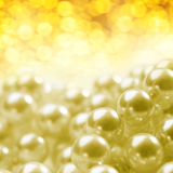 Pearl as background Stock Photography
