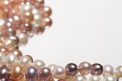 Pearl background Stock Photos