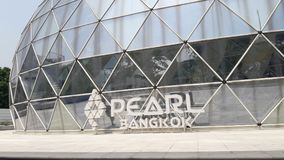 `Pearl Bangkok` The new office building of Pruksa Real Estate Royalty Free Stock Photography
