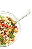 Pearl barley salad Royalty Free Stock Photography