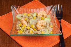 Pearl barley salad Stock Image