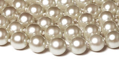 Pearl Bead Background Royalty Free Stock Images