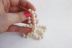 pearl bead Stock Photos