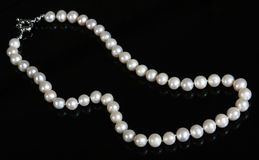 Pearl beads Royalty Free Stock Photography