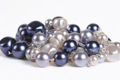 Pearl beads Royalty Free Stock Image