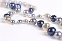 Pearl beads Stock Photo