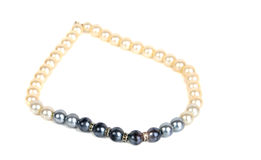 Pearl beads Stock Photos