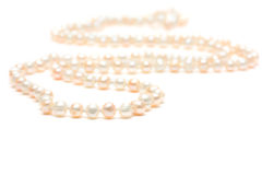 Pearl beeds Stock Photos