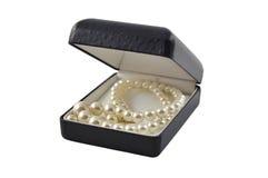 Pearl in box Stock Image