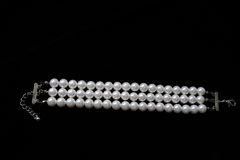 Pearl bracelet Stock Photography