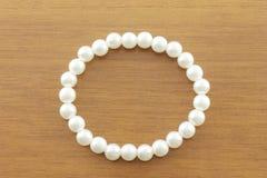Pearl bracelet Stock Photography