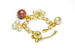 Pearl bracelet Royalty Free Stock Images