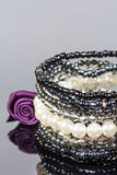 Pearl bracelet. Royalty Free Stock Photos