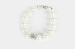 Pearl bracelet Stock Photo