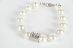 Pearl bracelet Stock Photos