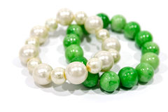 Pearl bracelets royalty free stock images