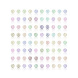 Pearl, candy colorful background, soft color Royalty Free Stock Image