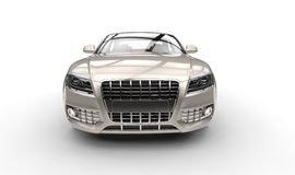 Pearl Car Front Royalty Free Stock Photos
