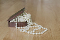 Pearl chaplet Stock Images
