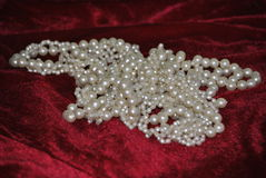 Pearl christmas Royalty Free Stock Images