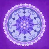 Pearl Circle Ornament Design Stock Photo