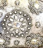 Pearl decor Royalty Free Stock Image