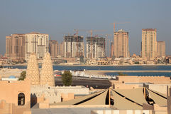 The Pearl, Doha Qatar Royalty Free Stock Image