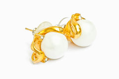 Pearl earring Royalty Free Stock Photos