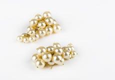 Pearl earrings Royalty Free Stock Photos