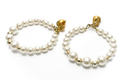 Pearl earrings Royalty Free Stock Photography