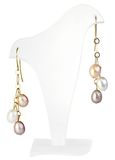 Pearl earrings Royalty Free Stock Photos
