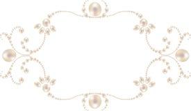 pearl frame stock photos