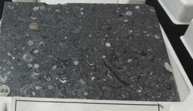 Pearl and gray marble sedimentary rock royalty free stock photos
