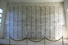 Pearl Harbor, Hawaii. The UUS Arizona Memorial was dedicated on Memorial Day 1962. It is built over the  remains of the sunken battleship USS Arizona Stock Images