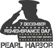 Pearl Harbor Dia da relembrança Foto de Stock Royalty Free