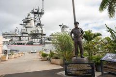 Pearl Harbor en Hawaii Fotos de archivo