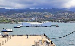 Pearl Harbor, Hawaï photos stock