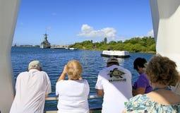 Pearl Harbor, Hawaï images libres de droits