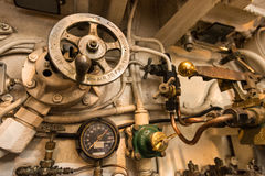 PEARL HARBOR, HAWAÏ - 2 mars 2016 - intérieur d'USS Bowfin (S Photo stock