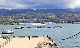 Pearl Harbor, Hawaii Stockfotos