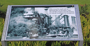 Pearl Harbor, Hawaii Stockbilder