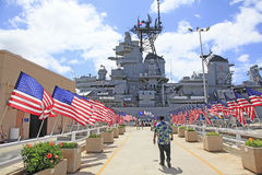 Pearl Harbor, Hawaii Stockfotos